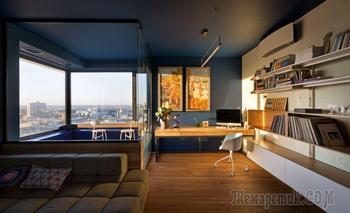 Современная квартира на 30 этаже с потрясающим видом