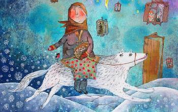 Живописные фантазии белорусской художницы-сказочницы Анны Силивончик, которую сравнивают с Шагалом