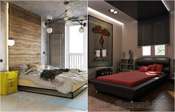 20 великолепных идей по обустройству современной спальной комнаты