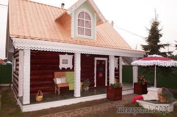 Обновляем фасад и кровлю деревянного дома: реальный пример