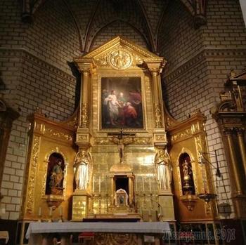 «Роман в красках» Эль Греко (Толедо. Церковь Санто Томе)
