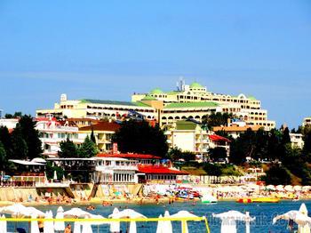 Болгарское побережье Черного моря 43. Новый город Несебр