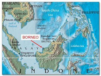 Остров Борнео / Калимантан