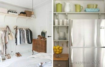 Хранение под потолком: 15 оригинальных идей для любого пространства