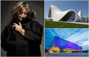 10 футуристических сооружений Захи Хадид, которые ломают представления об архитектуре