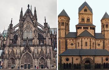 Романский и готический стили в чём отличие и сходство