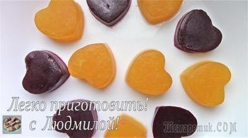 Постный (вегетарианский) домашний мармелад и мармелад в шоколаде