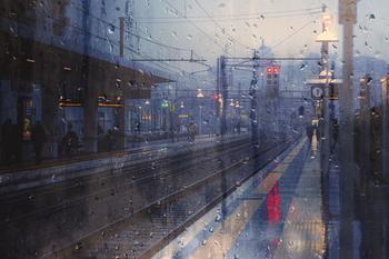 Меланхоличная красота дождливых дней в фотографиях Алессио Треротоли
