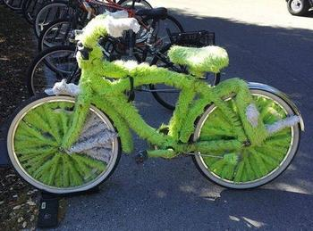 Чудаковатые и прикольные велосипеды
