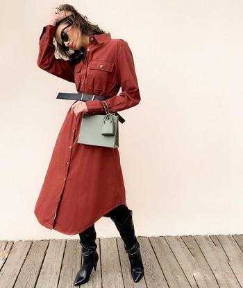 Модные повседневные платья этой зимы