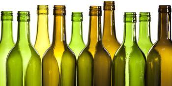 Вторая жизнь бутылки. Мастер класс-аппликация из битого бутылочного стекла