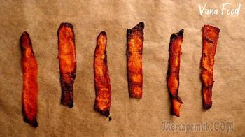 Бекон из моркови. Новинка из Тик Тока