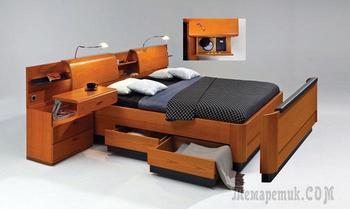 Мебель-трансформер, которая привнесёт в дом максимум комфорта
