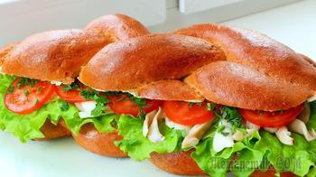 Хала плетеный воздушный хлеб