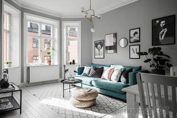 Квартира с эркером в Стокгольме