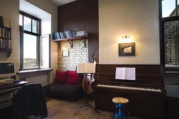 Интерьер квартиры музыканта площадью 27 кв.м.