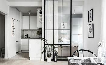 Дизайн малометражки: как сделать отдельную спальню на кухне (37 кв. м)