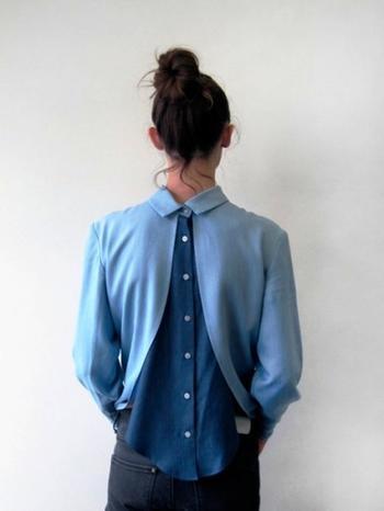 Рубашечные фантазии: акцент на деталях в удачных идеях