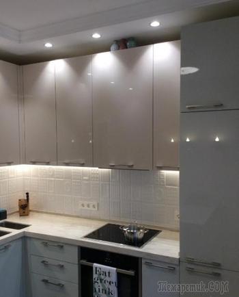 Кухня в минималистичном оформлении