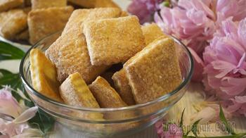 Вкуснейшее Быстрое слоеное печенье на сметане. Улетный рецепт!