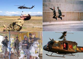 Юмор спасет мир: 20 веселых солдатских фотоснимков