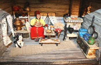 Делаем сказочный домик для Кузи