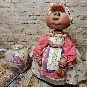 Баба на чайник своими руками - мастер-класс из различных материалов