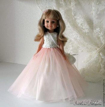 Шьем вечерний наряд для куклы