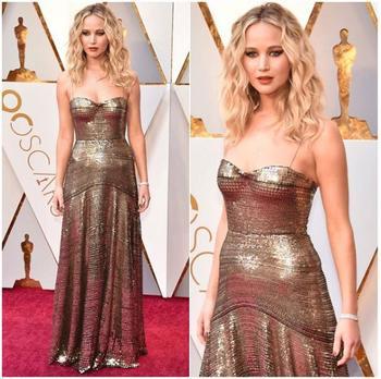 Оскар-2018: самые роскошные платья звёзд с красной дорожки