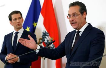 Кризис в Австрии: министры бегут после ужина с Аленой