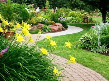Идеи садовых дорожек для вашего сада