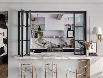Квартира в Нью-Йорке с парижским характером