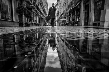 Лучшие уличные фотографии в чёрно-белом цвете