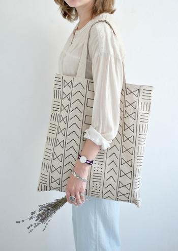 Сумка для покупок в стиле боголан своими руками