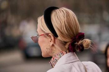 Как сделать бархатный ободок на волосы своими руками: пошаговая инструкция