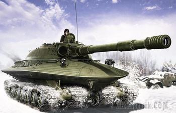 Огромные танки, одни только размеры которых вызывают трепет