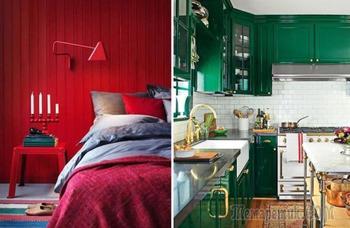 7 цветов для домашнего интерьера и психологические эффекты, которые они оказывают