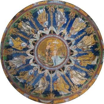 Евангельский сюжет в живописи: Крещение Господне