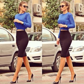 C чем носить юбку-карандаш в 2019-2020, чтобы выглядеть женственно: 23 стильных образа