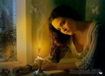 В доме погас свет (Стих)