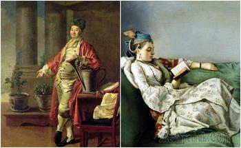 Как появились кимоно, халат, капот и пеньюар, в потом стали частью «домашней» моды