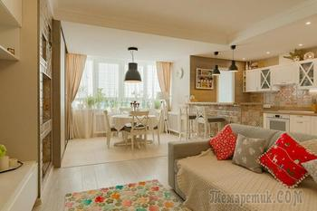 """Квартира с настроением: солнечный интерьер минской """"двушки"""" с мебелью из IKEA"""