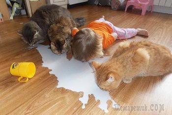 Смешные детишки, которые считают себя животными