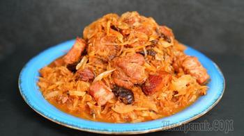 Бигос – шикарное мясо с 2 видами капусты