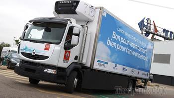 Электрические грузовики Renault можно будет купить в 2019 году