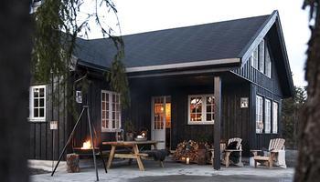 Уютное царство: деревянный дом в Норвегии