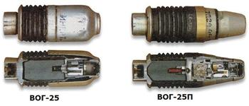 ВОГ-25/ВОГ-25П и другие 40-мм выстрелы