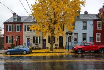 Осенние краски Ланкастера: фото прогулка
