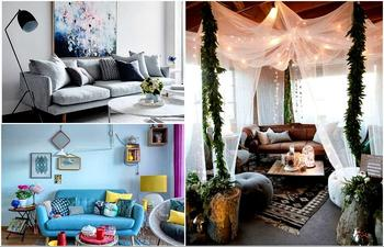 Идеи оформления стильной и функциональной гостиной