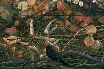 Веточки-цветочки и райские птицы: красочные картины Джуди Гарфин